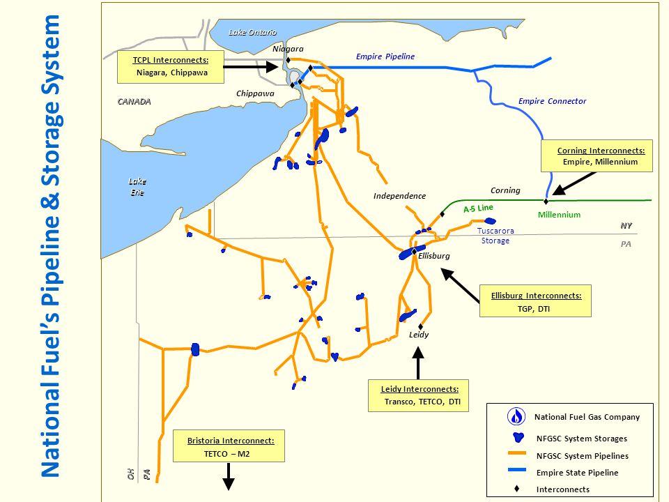 Ellisburg Interconnects: Bristoria Interconnect: