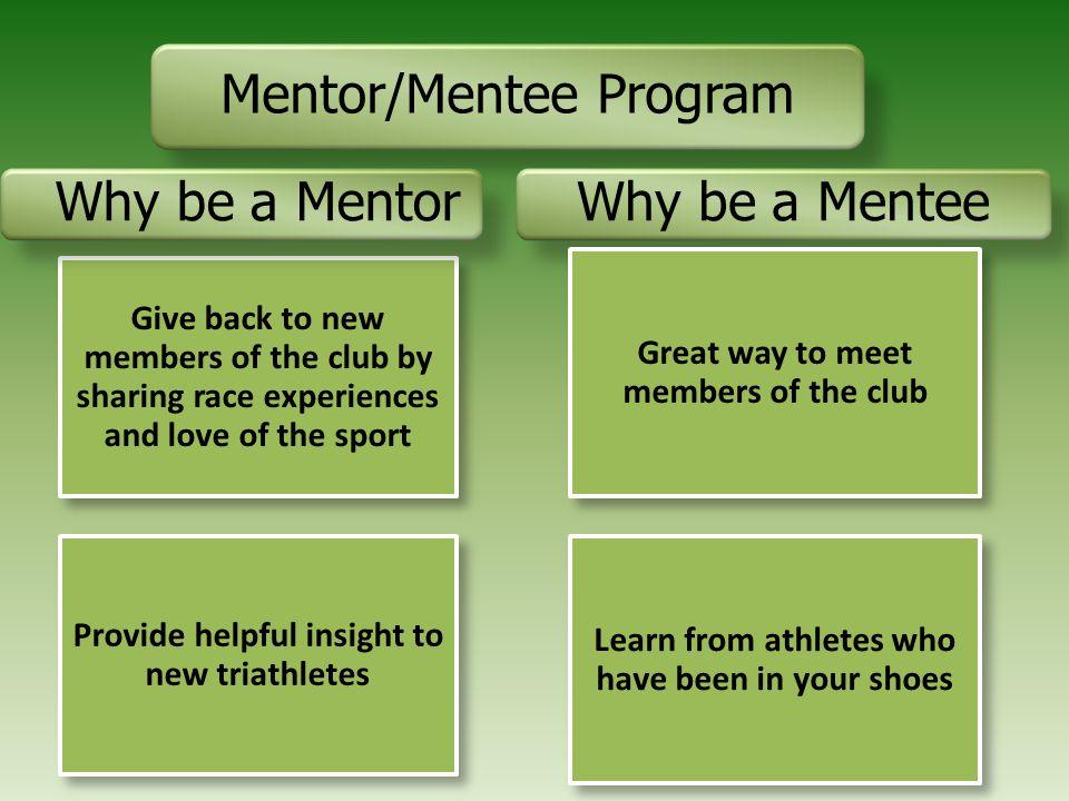 Mentor/Mentee Program