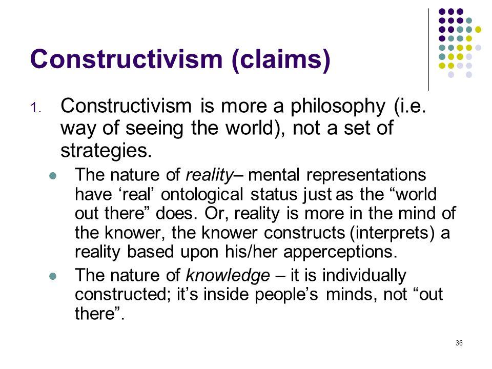 Constructivism (claims)