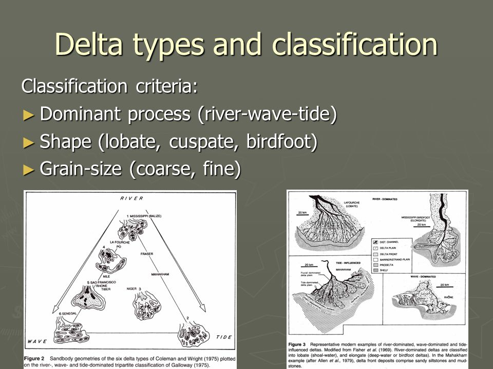 Delta types and classification