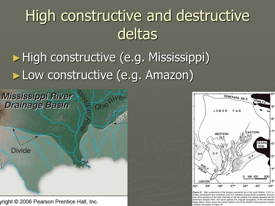 High constructive and destructive deltas