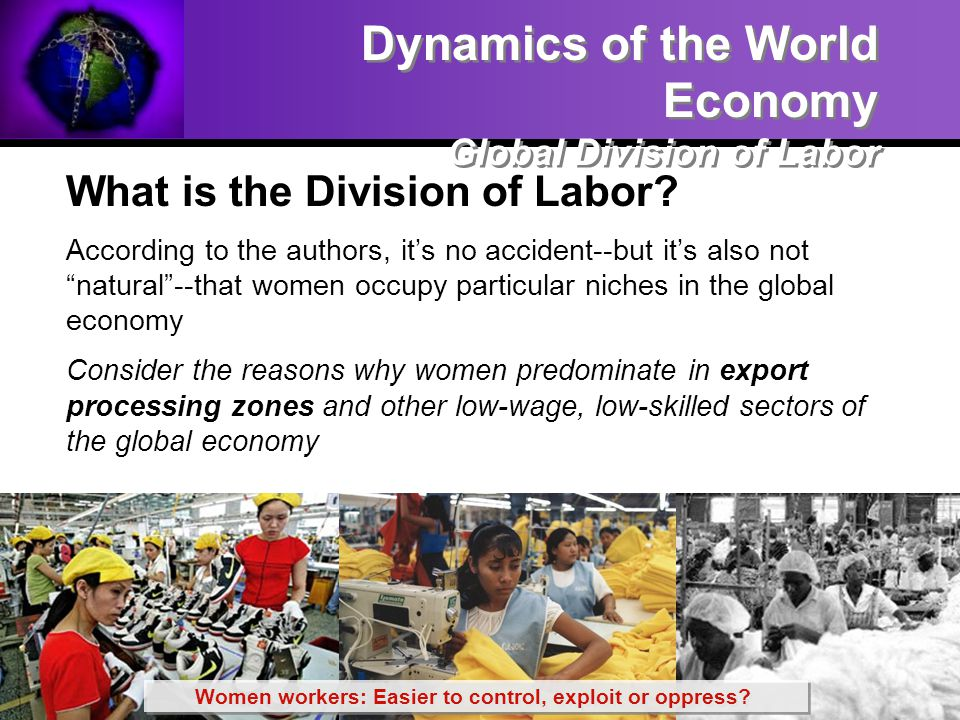 Women workers: Easier to control, exploit or oppress