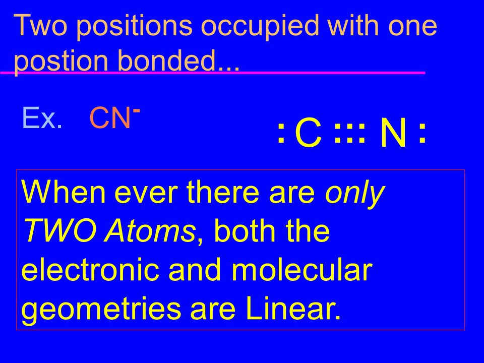 Two positions occupied with one postion bonded...