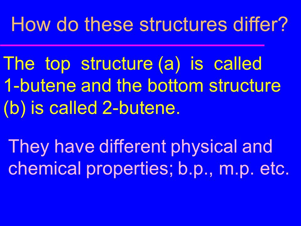 How do these structures differ