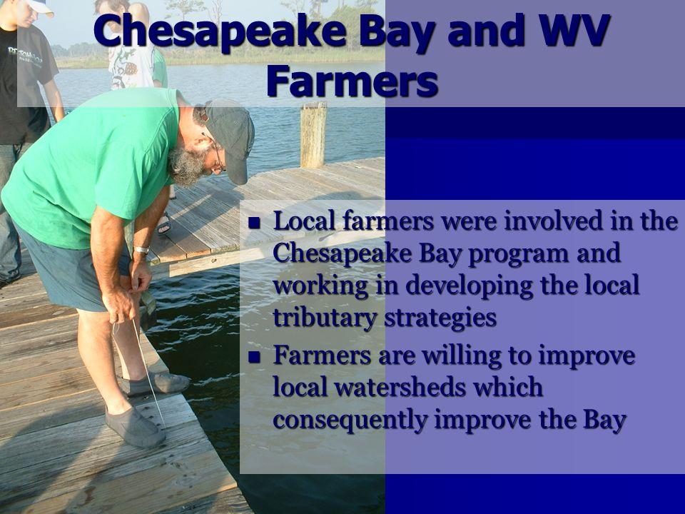 Chesapeake Bay and WV Farmers