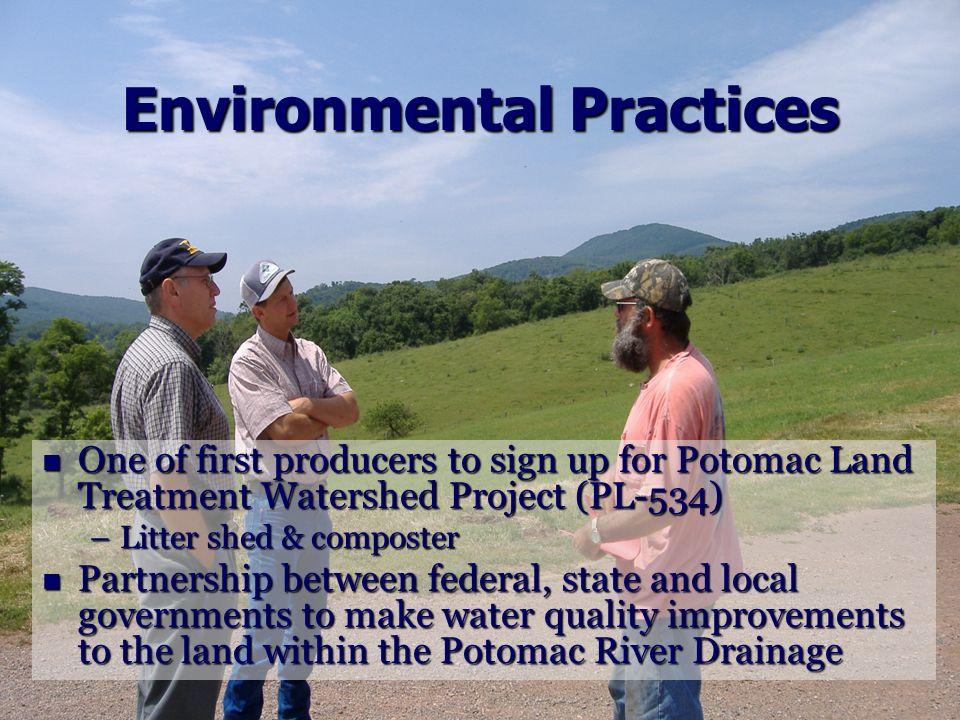 Environmental Practices