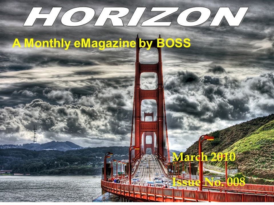 A Monthly eMagazine by BOSS