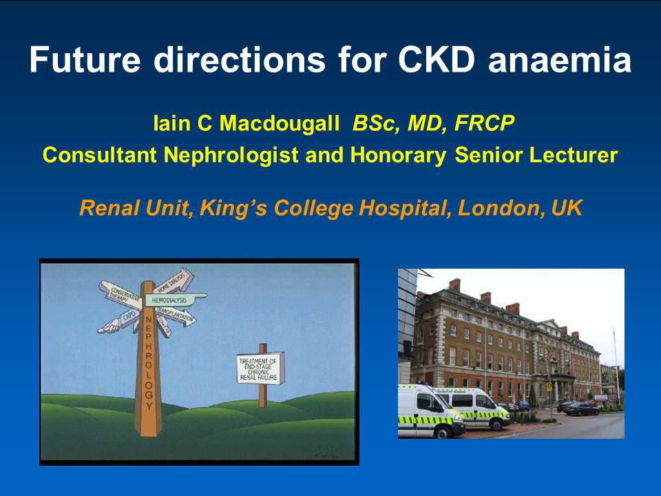 Future directions for CKD anaemia