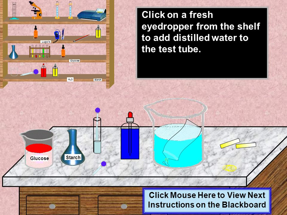 Click Mouse Here to View Next Instructions on the Blackboard