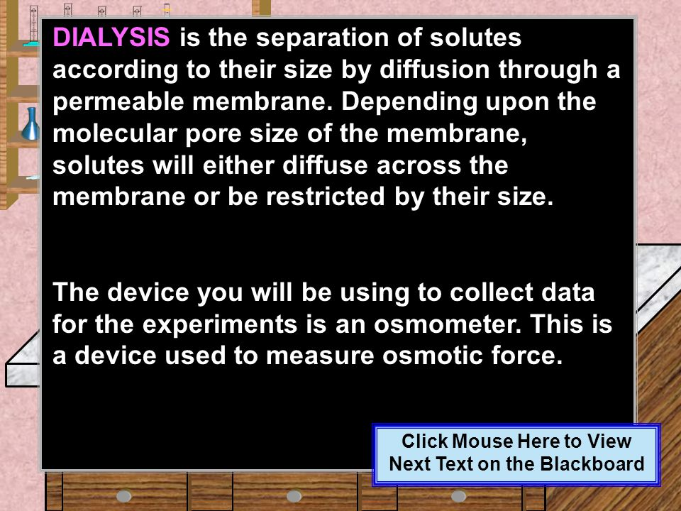 Click Mouse Here to View Next Text on the Blackboard