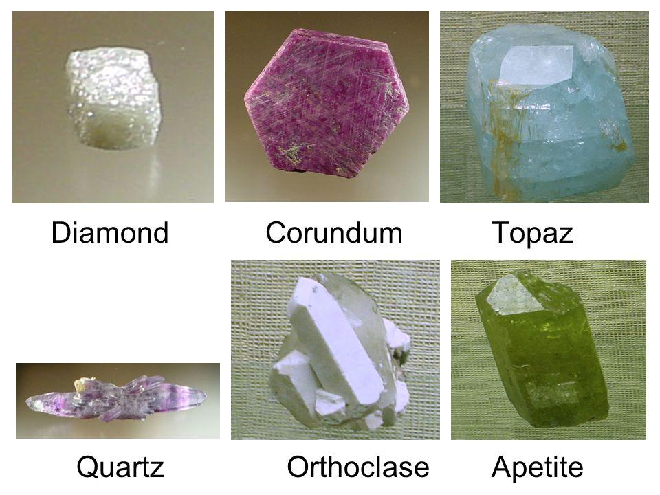 Diamond Corundum Topaz