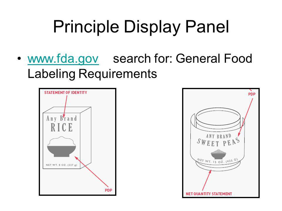 Principle Display Panel