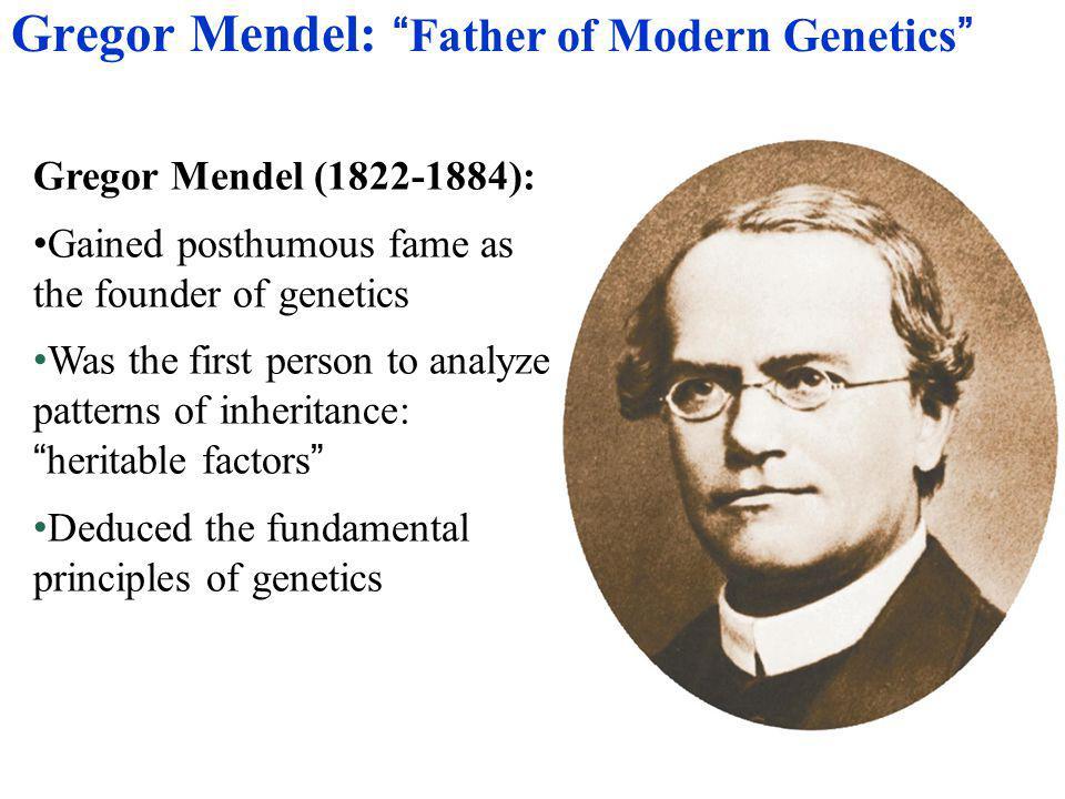 Gregor Mendel: Father of Modern Genetics