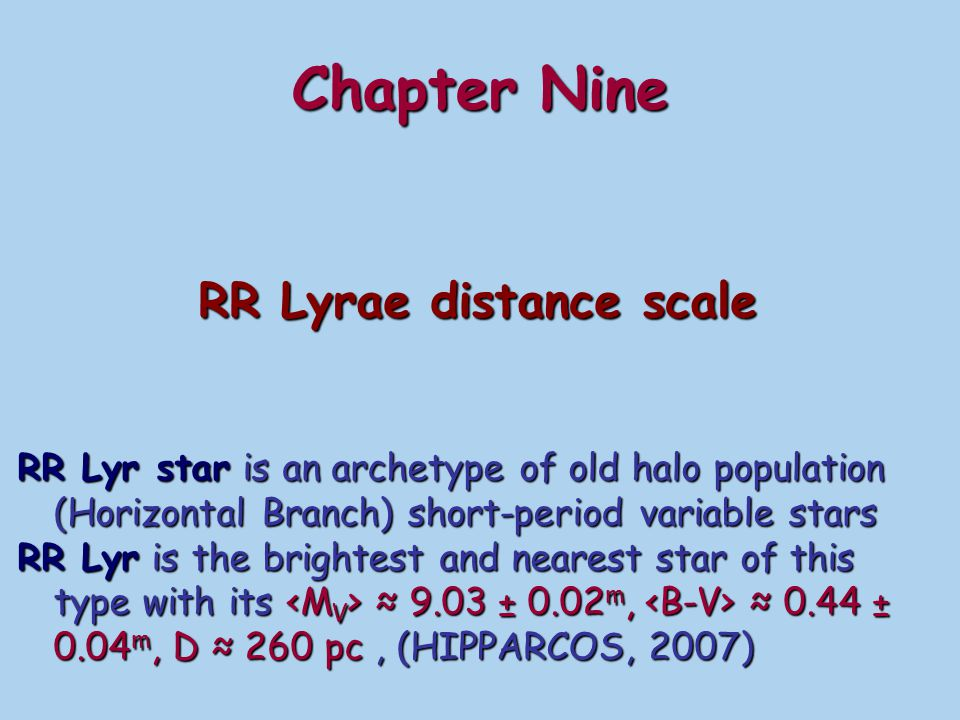 RR Lyrae distance scale