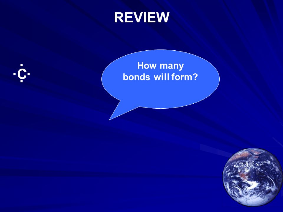 How many bonds will form