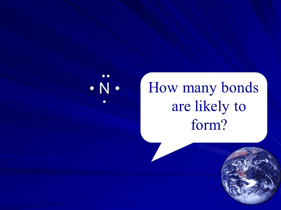 How many bonds are likely to form