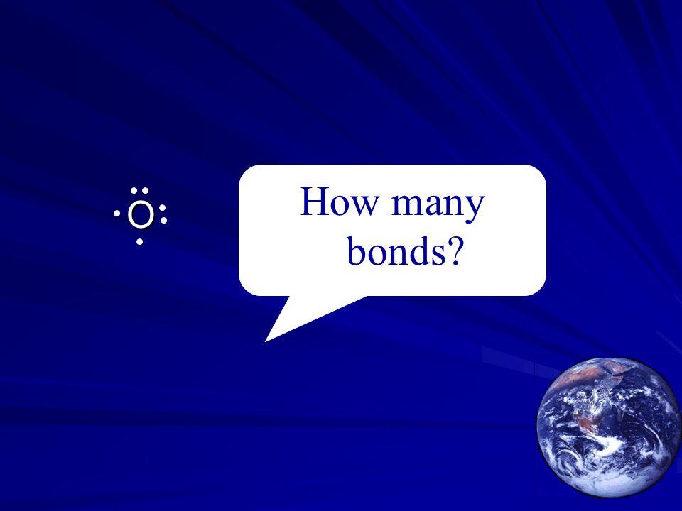 O How many bonds