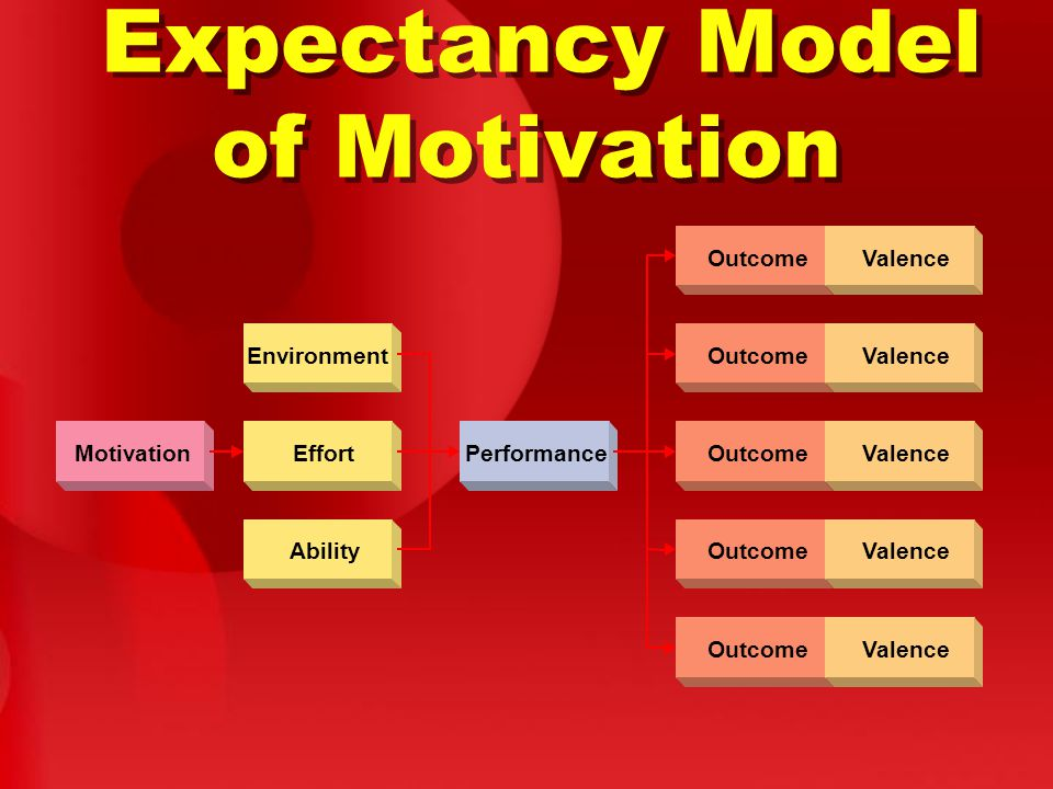 Expectancy Model of Motivation