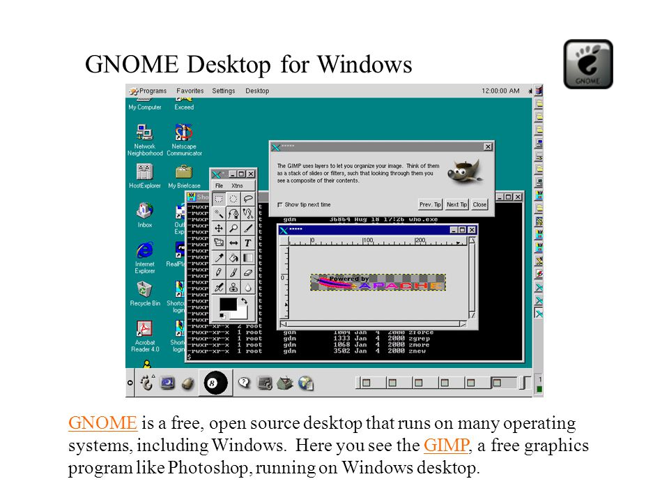 GNOME Desktop for Windows