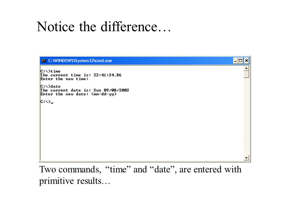 Notice the difference…