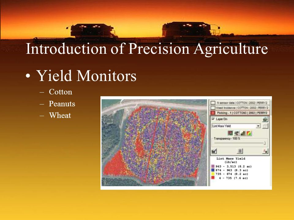 Introduction of Precision Agriculture