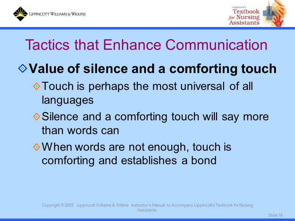 Tactics that Enhance Communication