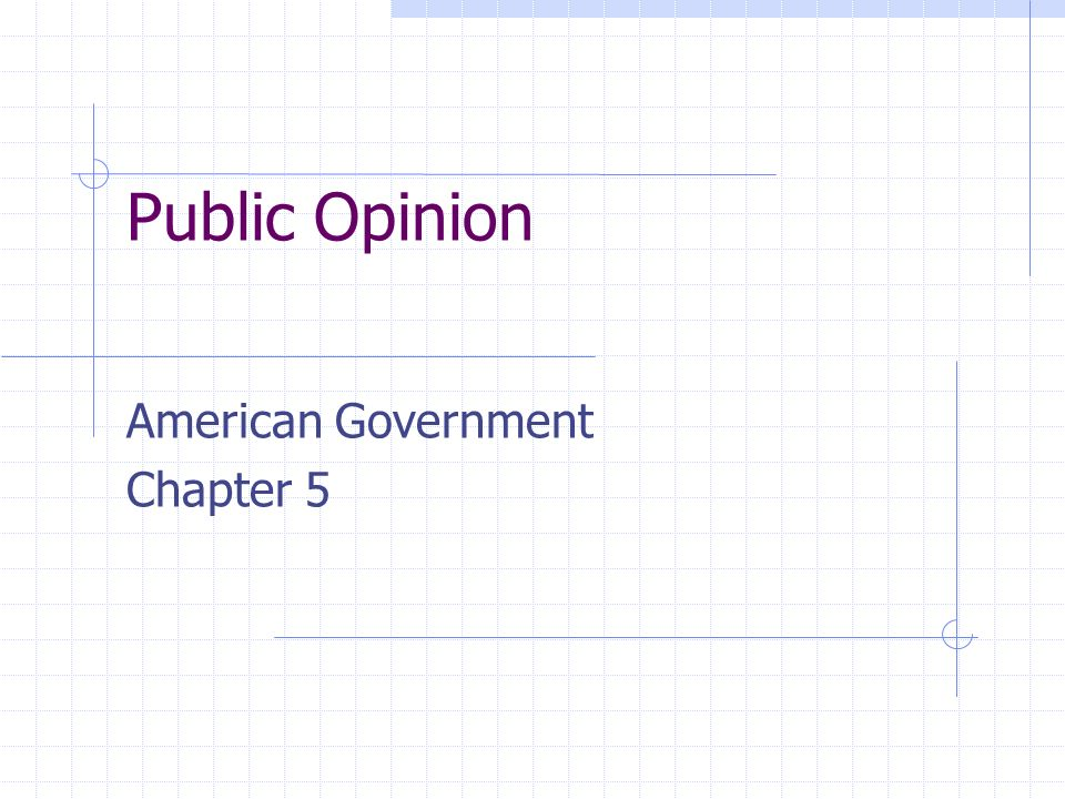 American Government Chapter 5