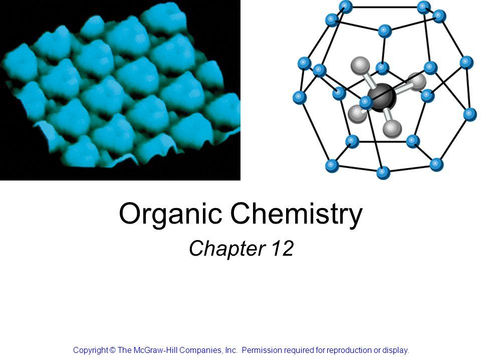 Organic Chemistry Chapter 12
