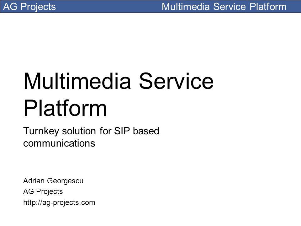 Multimedia Service Platform