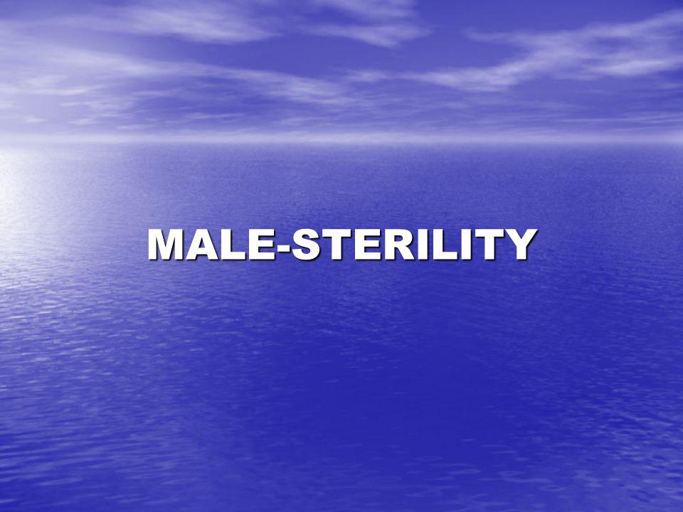 MALE-STERILITY