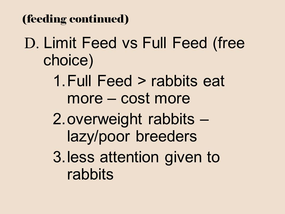 D. Limit Feed vs Full Feed (free choice)