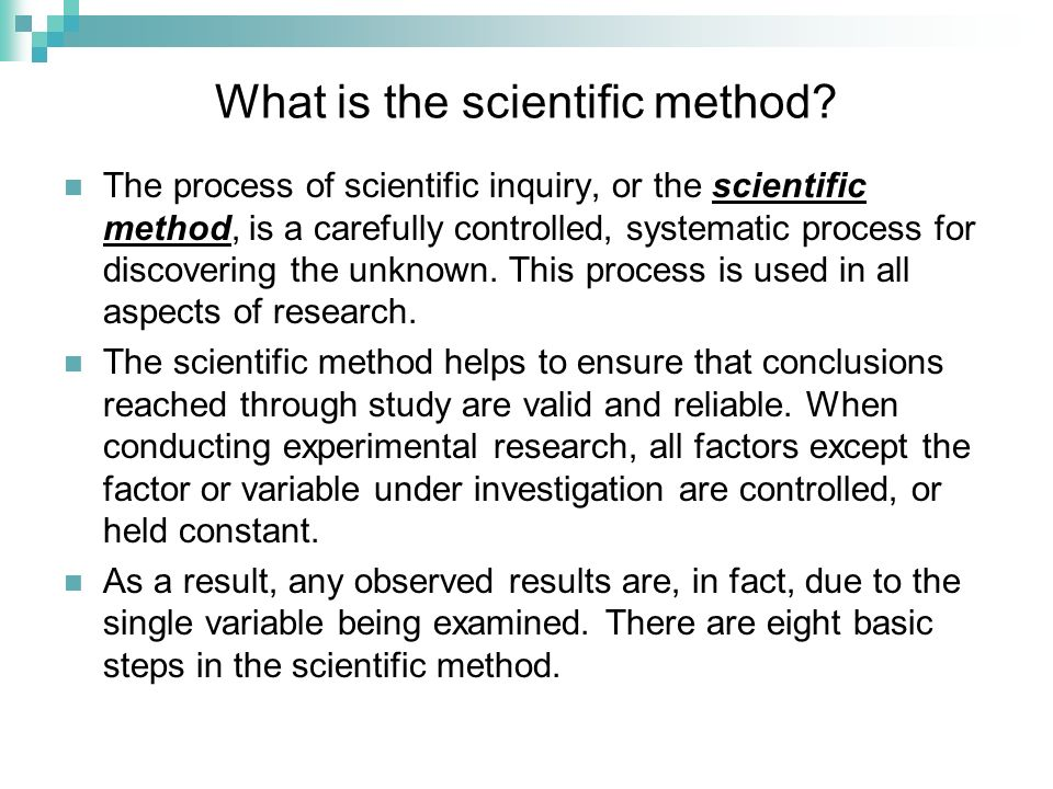 what is scientific method use for The scientific method is the process through which hypotheses are developed, tested and either proven or disproven see scientific method examples here.