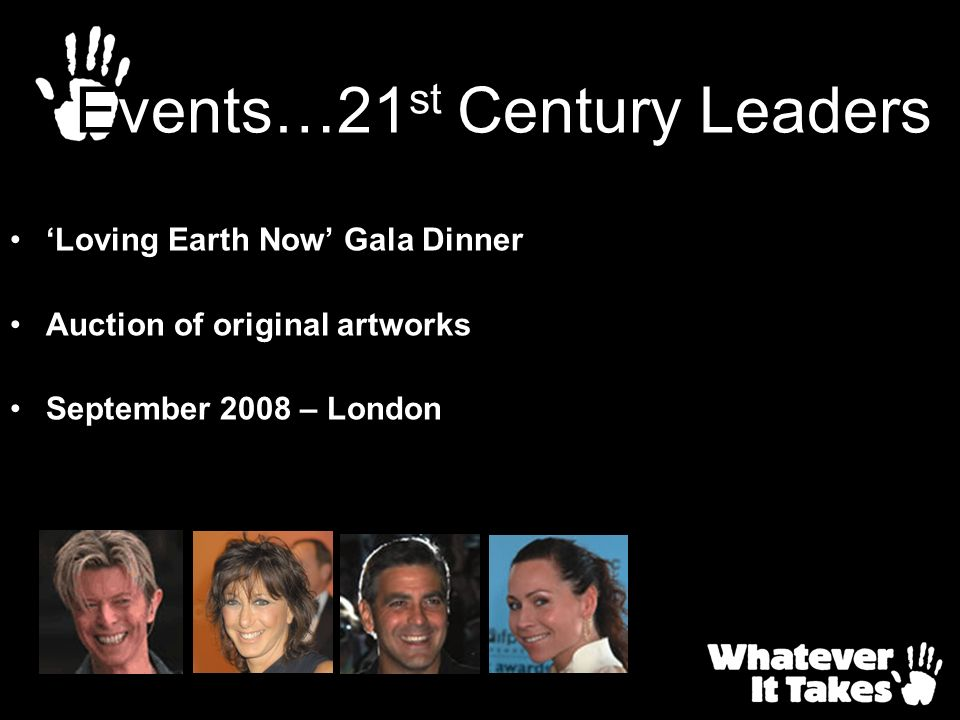 Events…21st Century Leaders