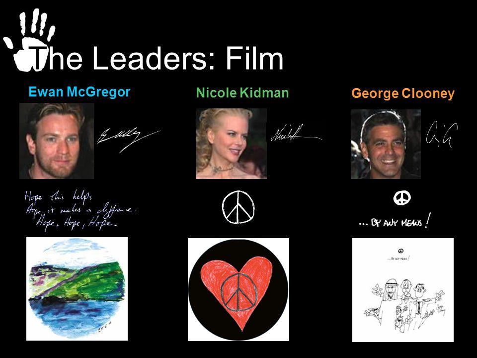 The Leaders: Film Ewan McGregor Nicole Kidman George Clooney