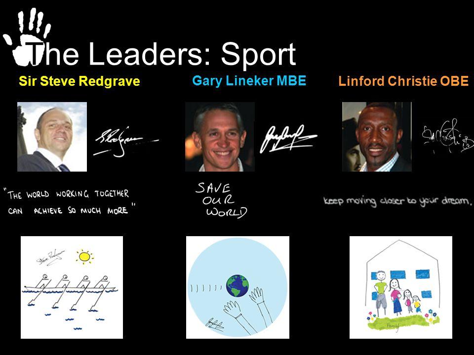 The Leaders: Sport Sir Steve Redgrave Gary Lineker MBE