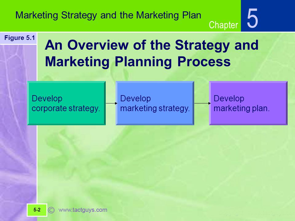 An Overview of the Strategy and Marketing Planning Process