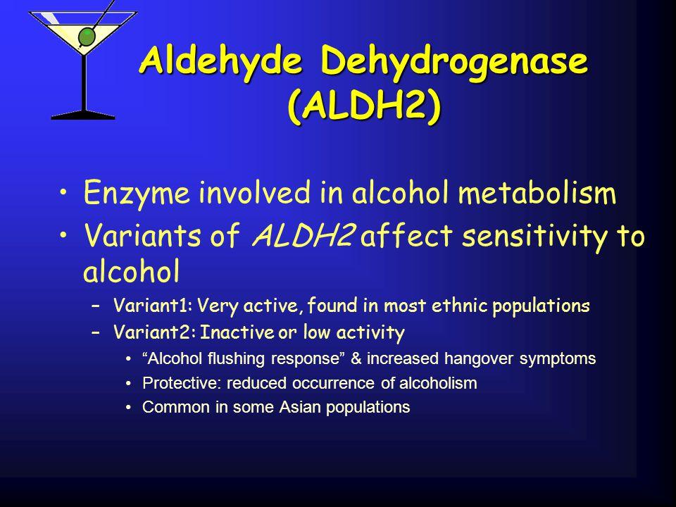 Aldehyde Dehydrogenase (ALDH2)