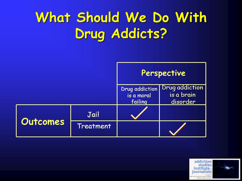 What Should We Do With Drug Addicts
