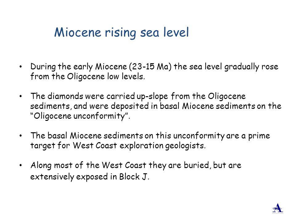 Miocene rising sea level