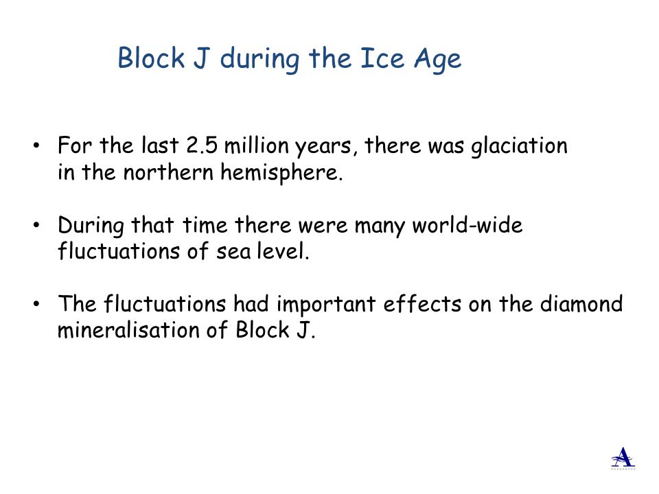 Block J during the Ice Age