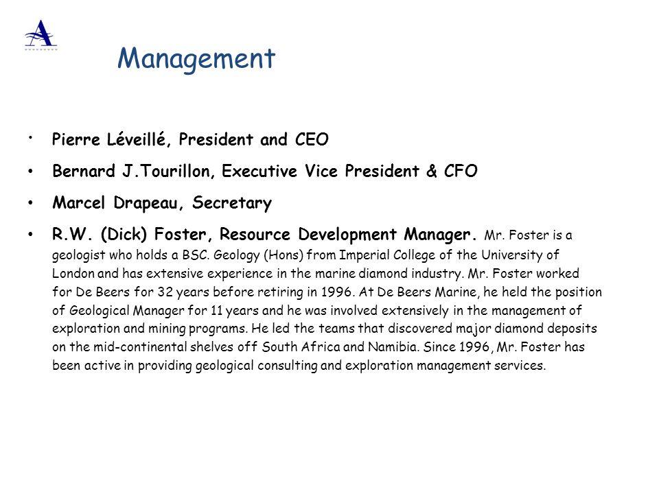 Management Pierre Léveillé, President and CEO