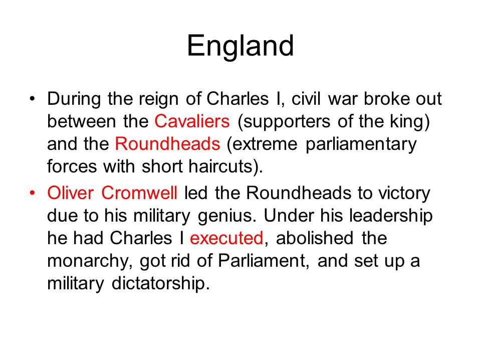 The Causes Of The English Civil Wars – Some Of The Most Destructive Conflicts In British History