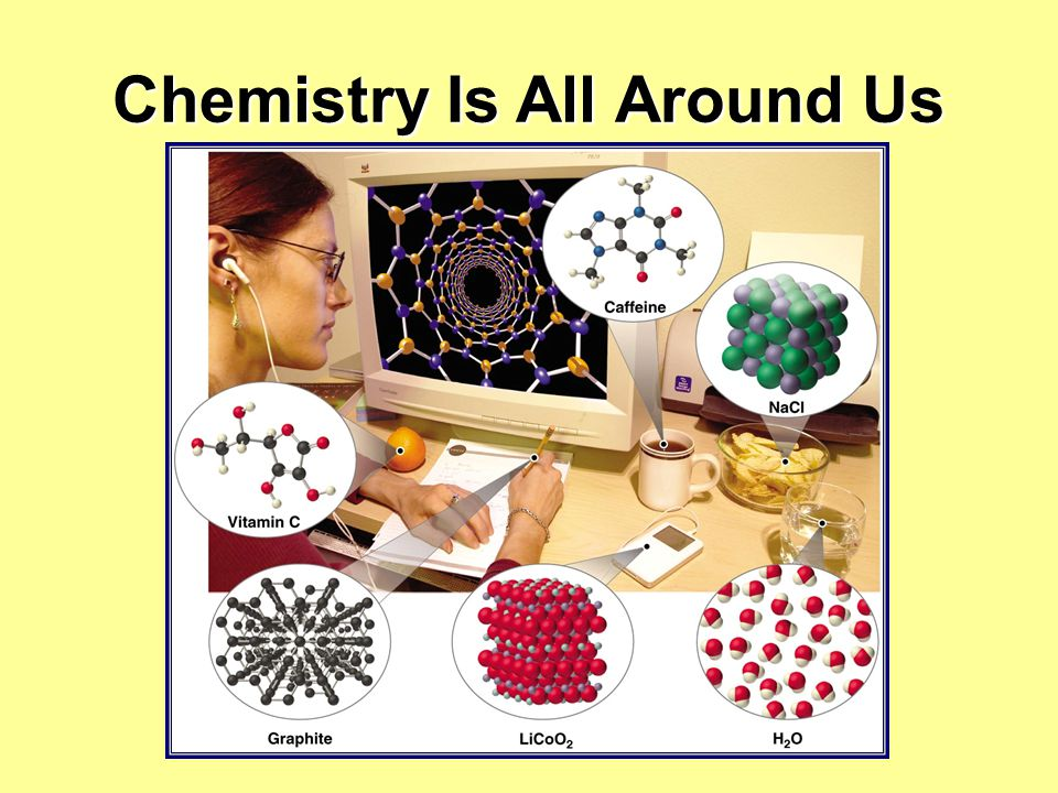 Chemistry Is All Around Us