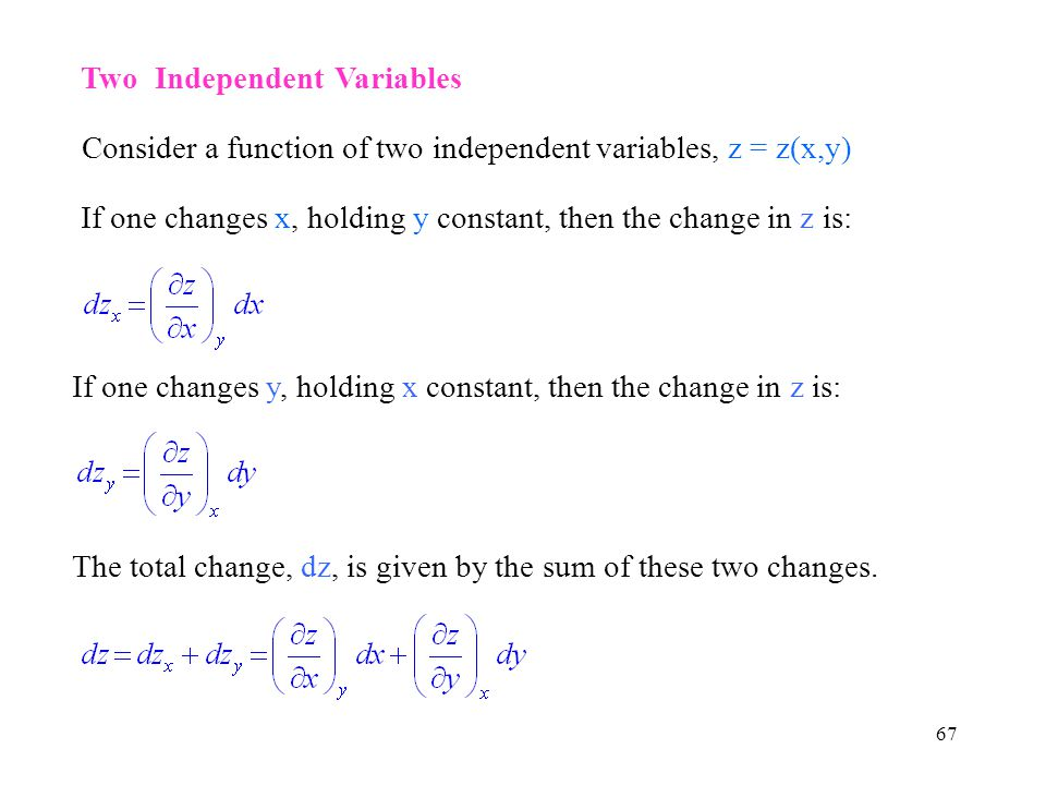 Two Independent Variables