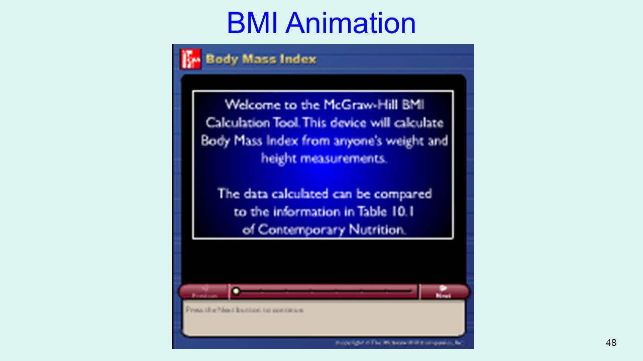 BMI Animation