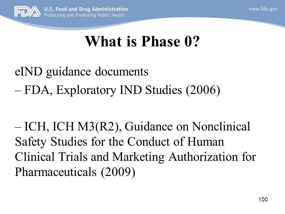 What is Phase 0 eIND guidance documents