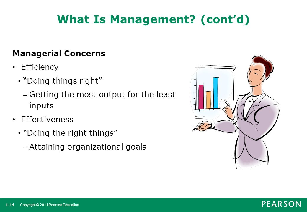 What Is Management (cont'd)