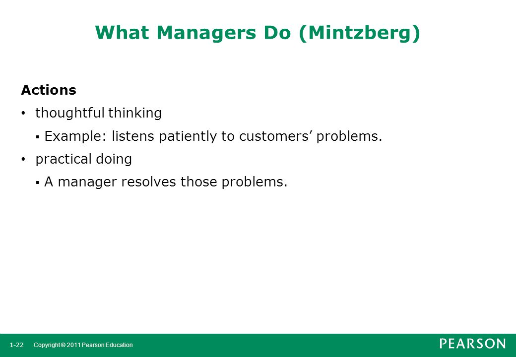 What Managers Do (Mintzberg)
