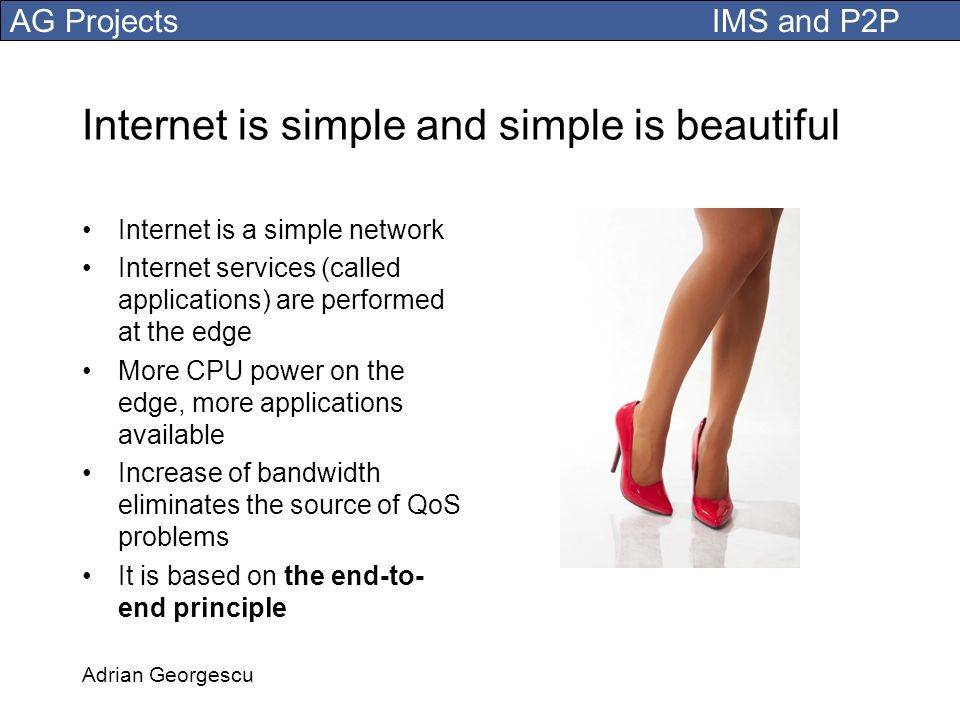 Internet is simple and simple is beautiful