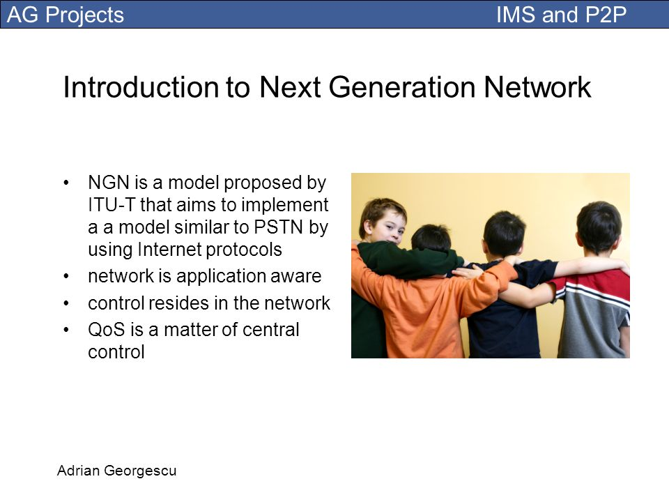 Introduction to Next Generation Network